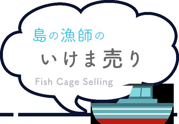 島の漁師のいけま売り